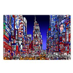 Tablou DualView Startonight New York , luminos in intuneric, 60 x 90 cm