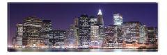 Tablou DualView Startonight Manhattan, luminos in intuneric, 40 x 120 cm