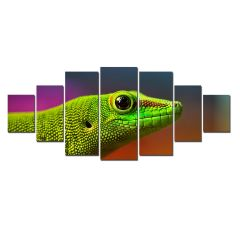 Set Tablou DualView Startonight Soparla, 7 piese, luminos in intuneric, 100 x 240 cm