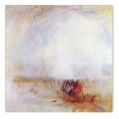 Tablou DualView Startonight Joseph Mallord William Turner - Venetian Scene, 1842, luminos in intuneric, 40 x 40 cm