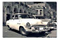 Tablou DualView Startonight Masini retro in Cuba, luminos in intuneric, 20 x 30 cm
