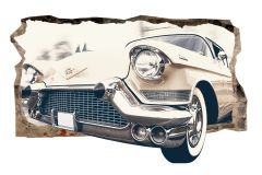 Fototapet 3D Startonight Masina vintage, luminos in intuneric, 1.50 x 0.82 m