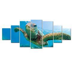 Set Tablou DualView Startonight Testoasa, 7 piese, luminos in intuneric, 100 x 240 cm