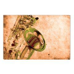 Tablou DualView Startonight Saxofon, luminos in intuneric, 80 x 120 cm