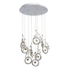 Lustra, MW-LIGHT, Elegance, 459011309, argintiu