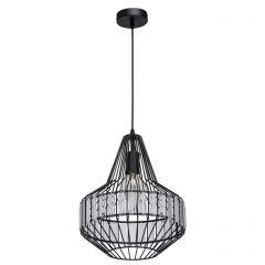 Lustra, MW-LIGHT, Loft, 643012201, negru