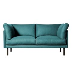 Canapea doua locuri, Merano, 258649HND, Albastru