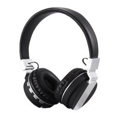 Casti Bluetooth FE-018 cu microfon, Over The Ear, Radio FM, Negru