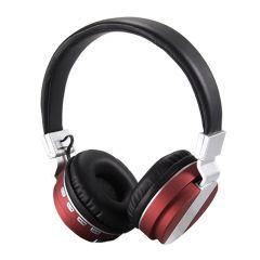 Casti Bluetooth FE-018 cu microfon, Over The Ear, Radio FM, Rosu