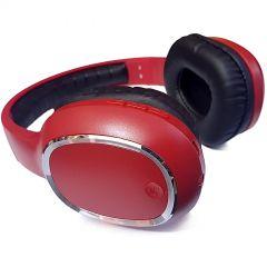 Casti Bluetooth Soundvox™ YS-BT9957 cu microfon, Over The Ear, Radio FM, Rosu