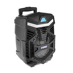 Boxa Activa Portabila Bluetooth, Soundvox BS-05, USB, TF/SD Card, Aux, Radio FM, Microfon si Lumini, Neagra