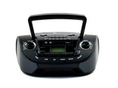 Radio cu MP3 Player Fepe FP-201U, USB, SD card, AM/FM/SW1/SW2, culoare neagra