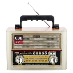Radio cu MP3 Player Kemai MD-1705BT FM/AM/SW3, Gri