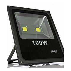 Proiector de Lumina cu LED-uri de 100 W, SMD SY8100, 10000 Lm, Lumina de Zi Alba, 5000 K, Rezistent la Apa IP65, Negru
