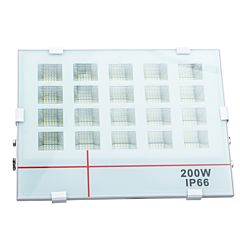 Proiector de Lumina cu LED-uri de 200 W, SMD, 18000 Lm, Lumina de Zi Alba, 6000 K, Rezistent la Apa IP66, Alb