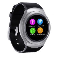 Smartwatch RX-02, ecran IPS, SIM, Slot SD CARD, Pedometru, Monitorizare Somn, Sedentarism, Calorii, Curea Neagra