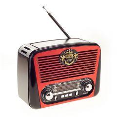 Radio cu MP3 Player cu Bluetooth Golon RX-435BT FM/AM/SW4, USB, SD, Negru-Rosu
