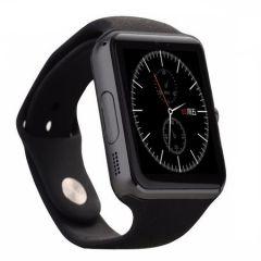 Ceas Smartwatch BigShot Q7S, Camera, Bluetooth, LCD Capacitiv 1.54 inch, Antizgarieturi, Slot Card, Negru