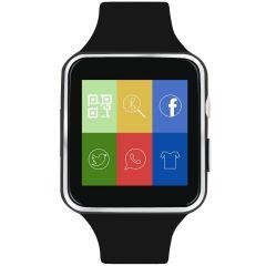 Smartwatch BigShot X6, Ecran Curbat, Slot SIM, Camera Foto, Negru