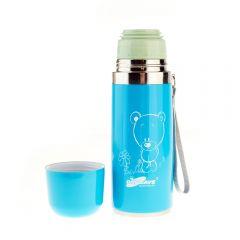 Termos din Inox DayDays HB7, Capacitate 0.35 litri, Albastru