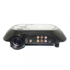 Videoproiector LED cu DVD 288B, EVD, MP3, MP4, MP5, USB, SD, Negru