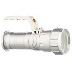Lanterna reincarcabila Led din aluminiu - Zoom Cree XML-T6, Alba