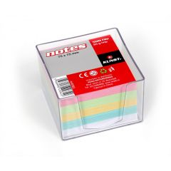 Cub notes hartie cu suport plastic