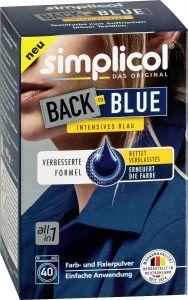 Vopsea pentru reimprospatarea/revigorarea culorii albastre Simplicol, 400 g