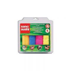 LAVETE MICROFIBRA SANO SUSHI, 4 BUC