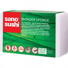SET BURETI UNIVERSALI SANO SUSHI MAGIC SPONGE, 6BUC