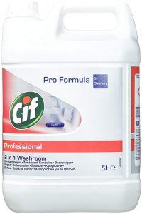 Detergent Cif Professional 2in1 pentru baie 5L