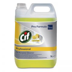 Detergent Cif Professional,Diversey, Lemon Fresh, universal, 5L
