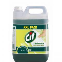 Detergent Cif Professional, Diversey, Extra Strong Lemon, pentru spalarea manuala a vaselor, 5L
