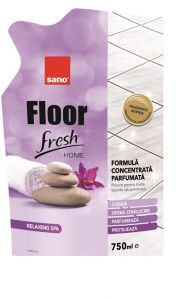 Detergent pardoseli Sano Floor Fresh Home Relaxing Spa Rezerva 750 ml