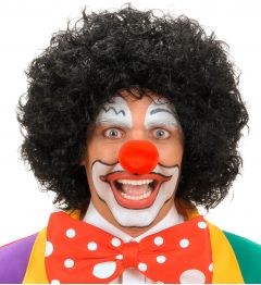 Peruca Clown Neagra