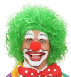 Peruca Clown Verde