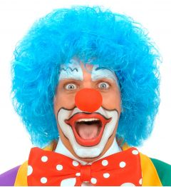 Peruca Clown Albastra
