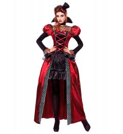 Costum Vampirita Stil Victorian Halloween