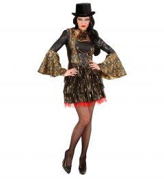 Costum Vampirita Gotica Sexy