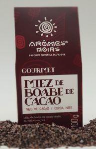 Miez de boabe de cacao Aromes Noirs Gourmet (Nibs) 100 gr