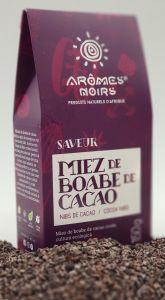 Miez de boabe de cacao Aromes Noirs Saveur(Nibs) 150 gr