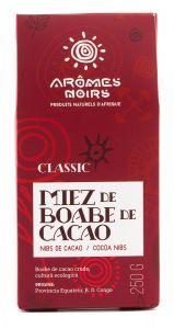Miez de boabe de cacao Aromes Noirs Classique (Nibs) 250 gr