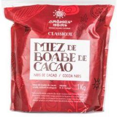 Miez de boabe de cacao Aromes Noirs Forastero 1 kg