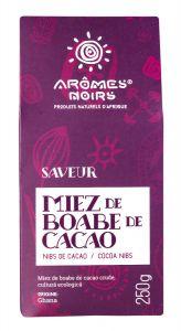 Miez de boabe de cacao Aromes Noirs Saveur(Nibs) 250 gr
