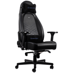 Scaun gaming Noblechairs ICON Black/Blue SGL