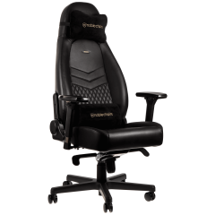 Scaun gaming Noblechairs ICON Real Leather Black SGL