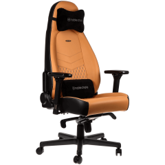 Scaun gaming Noblechairs ICON Real Leather Cognac/Black SGL