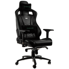 Scaun gaming Noblechairs EPIC Black/Green SGL