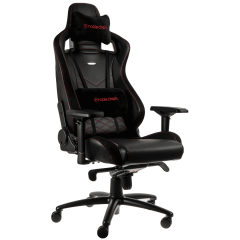 Scaun gaming Noblechairs EPIC Black/Red SGL