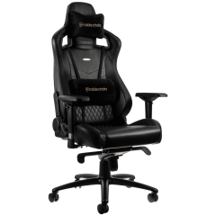 Scaun gaming Noblechairs EPIC Real Leather Black SGL